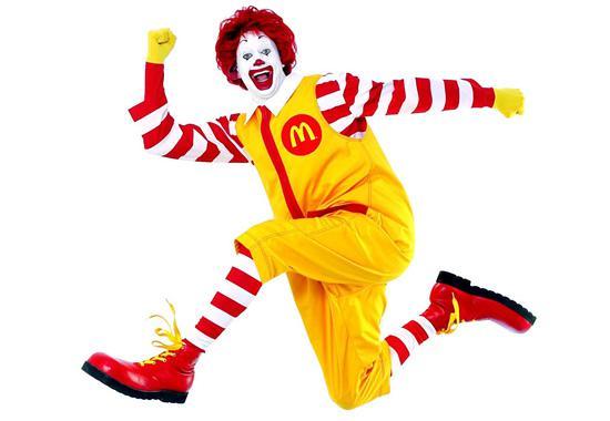 Веб-дизайн в стиле McDonalds